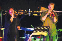 The Jazz at Sea series of concerts takes place aboard the Primetime Cruise ship, equipped with a stage, bars and seating areas.