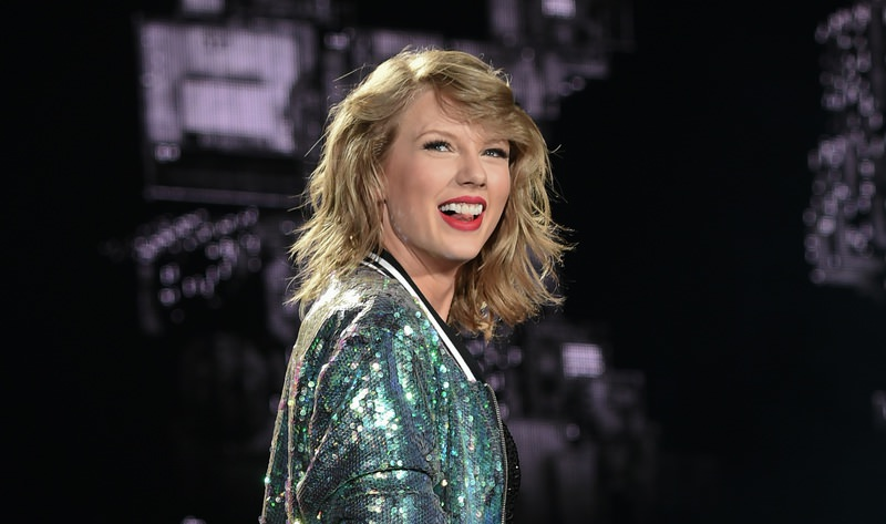 Singer Taylor Swift performs during her ,1989, world tour at MetLife Stadium in East Rutherford, N.J., on Friday, July 10, 2015. (AP Photo)