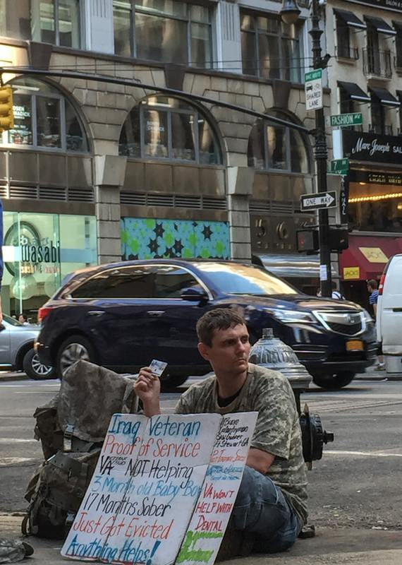 Since 2010, the number of homeless veterans has increased 25 percent. Last year, 49,933 veterans spent nights on the street