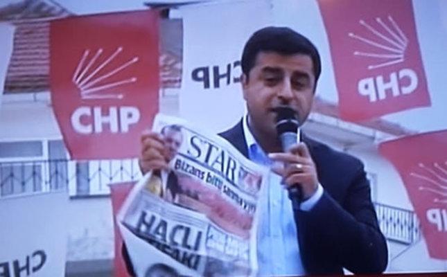 Attempted bomb attack on Turkey's Star Media Group a sequel to HDP leader Demirtaş's speech: Media Association