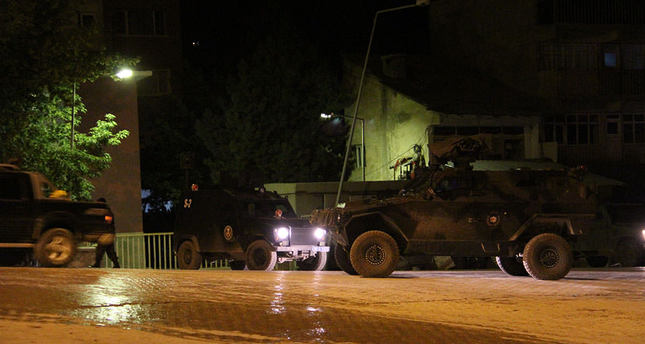 11 police officers wounded, 1 kidnapped on late Friday's attacks in southeastern Turkey