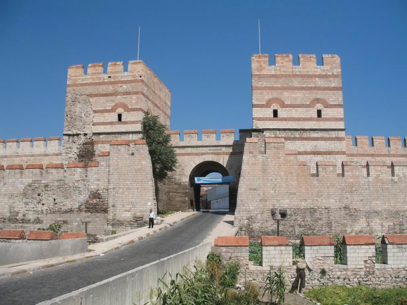 Belgradkapu0131 (Belgrade Gate), located in the present-day Zeytinburnu district today.