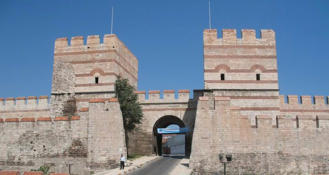 The historical city gates of Istanbul - Daily Sabah