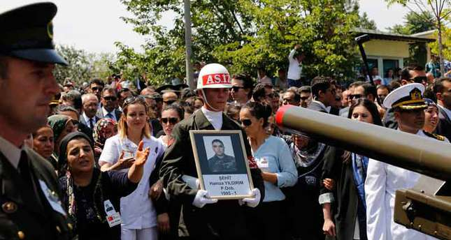 Turkey honors its soldier killed on duty by naming an airstrike after him
