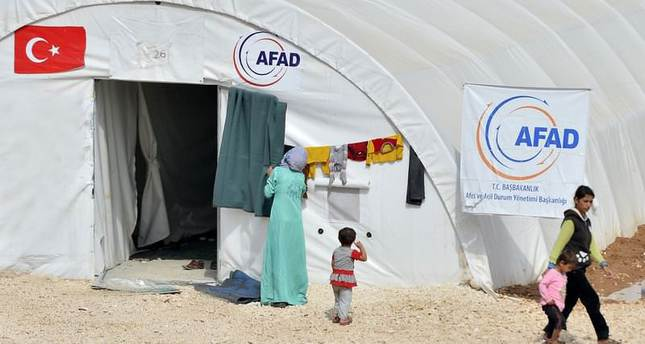 Aid agency AFAD equipped to build refugee camp in safe zone within a day