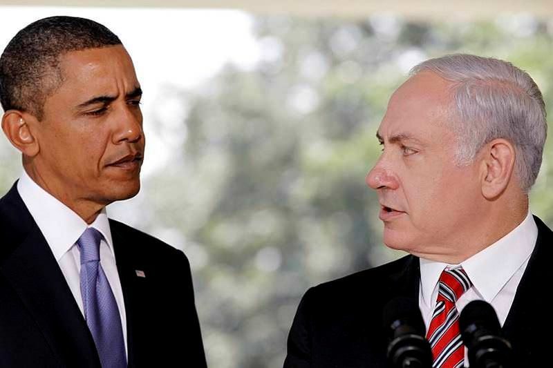 U.S. President Obama (L) and Israeli Prime Minister Netanyahu (R) have long been in dispute over the nuclear deal with Iran.