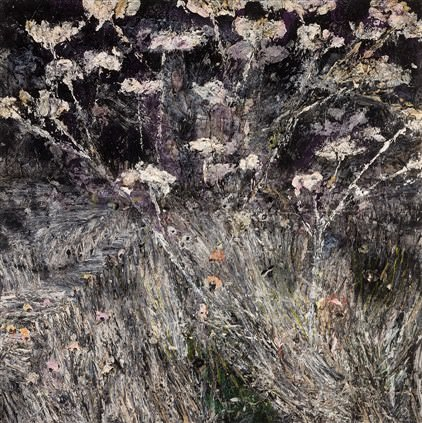Anselm Kiefer, 1945 Morgenthau Plan, 2012, 380 x 380 cm Acrylic, emulsion, oil and shellac on photograph mounted on canvas