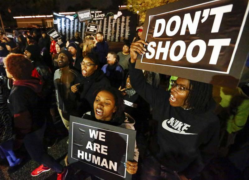 Blacks along with whites organized several demonstrations to condemn racially motivated police attacks.