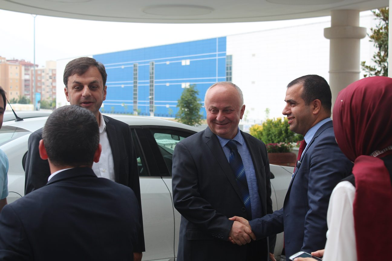 Adjara regions's MPs visit a Georgian patient at Emsey Hospital