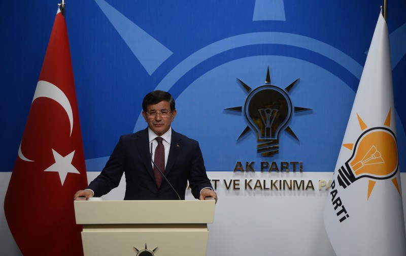 The AK Party Chairman and the Prime Minister Ahmet Davutou011flu talks about the meeting with CHP Cahirman Kemal Ku0131lu0131u00e7ardou011flu, declaring a coalition government isn't on the way.