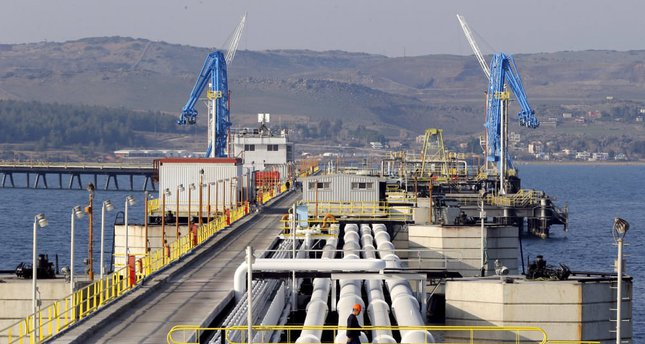 Turkey's Mediterranean port of Ceyhan, which is run by state-owned Petroleum Pipeline Corporation (BOTAS), 70 kilometers away from Adana, Turkey.