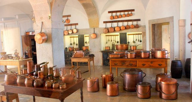 Copper Pots Old But Functional Cookware Fall Into