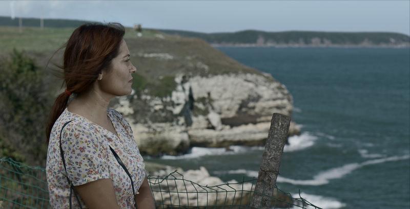 A scene from Mehmet Eryu0131lmaz's film ,Misafir.,