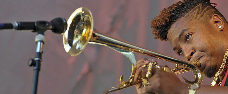 Growing up in New Orleans, American jazz trumpeter and composer Christian Scott will be among Salon's November guests.