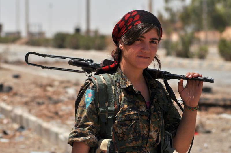 PKK and YPJ forces are represented as ,heroes, that fight the ,evil, terrorist group ISIS, although both are recognized as terrorist groups by the United States and European Union and are currently becoming a national security threat to Turkey.