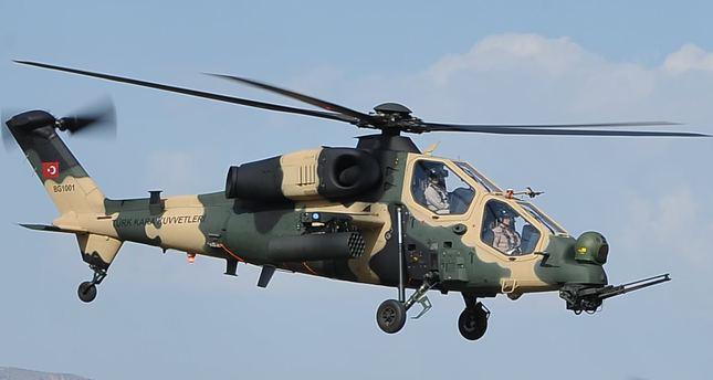 Курды сбили турецкий вертолет T-129