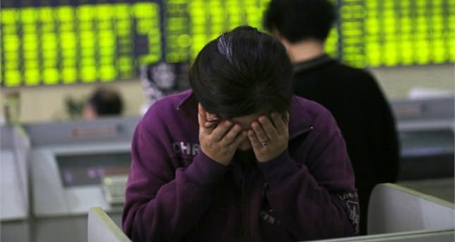 China turmoil grips global markets