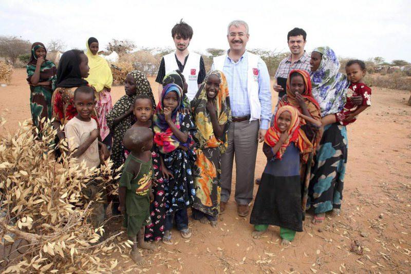Members of Doctors Worldwide in Somalia.