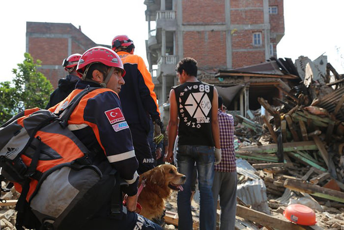 AFAD rescue teams in Nepal after the Nepal earthquake (File Photo)