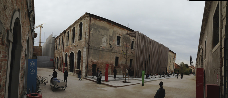 Pavilion of Turkey at the 56th International Venice Biennial