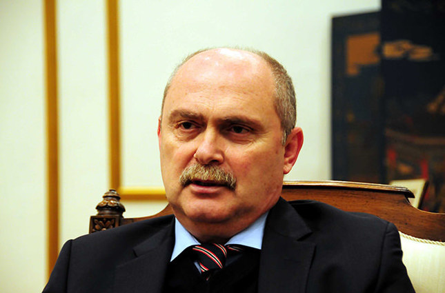 Minister of Foreign Affairs Feridun Hadi Sinirlioğlu (File Photo)