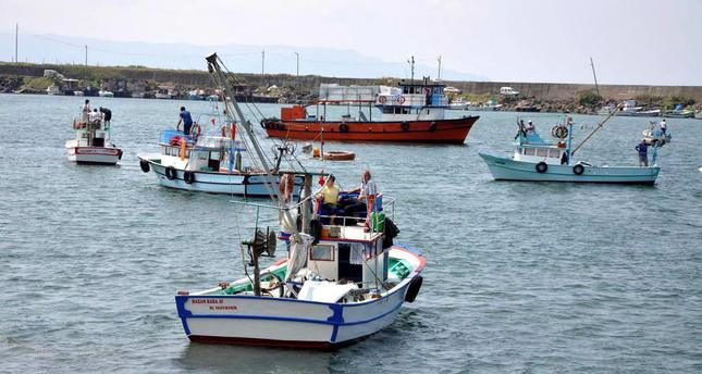Fishermen in the Black Sea city of Trabzon set sail on Monday in an event to celebrate the opening of the new fishing season.