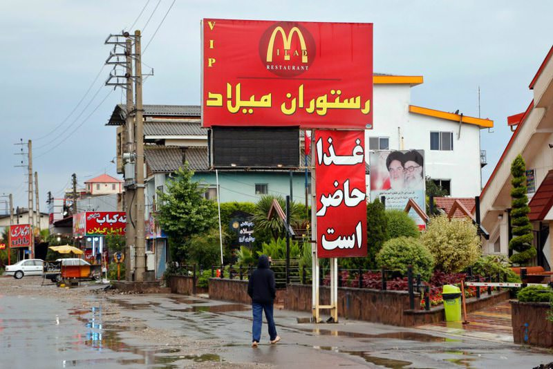 McDonald's is very popular among Iranians, though forbidden from having branches, as it is believed to be a symbol of U.S. imperialism. However, many restaurants use McDonald's logo to attract customers.