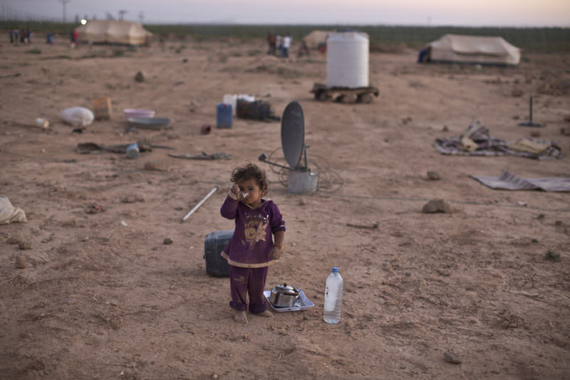 Syrian refugees don't think about their education, future or anything else but to survive another day.