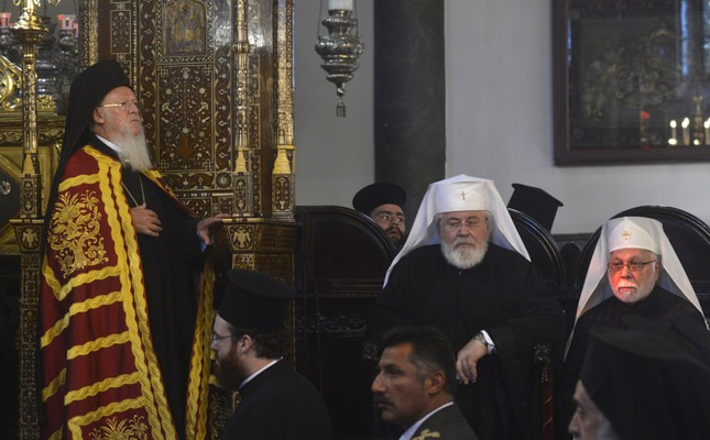 Orthodox Church leaders mark church's New Year in Istanbul