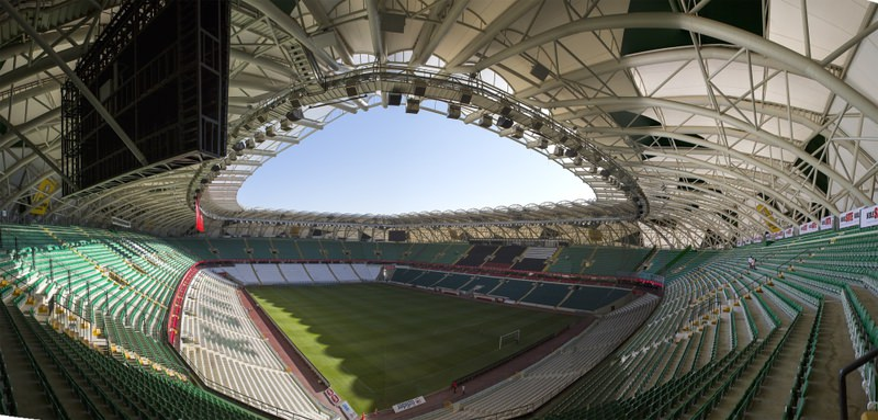 Konya's 42.000 capacity brand new Torku Arena Stadium which is the first in many aspects, will host Latvia and the Netherlands national teams.