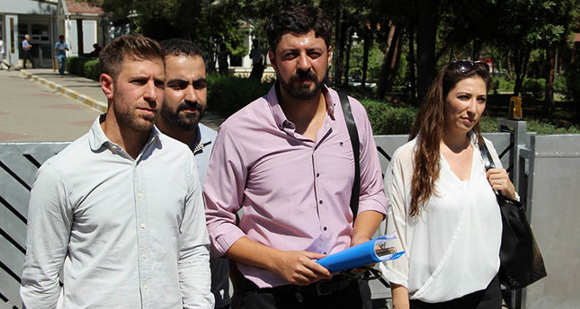 The lawyer of British journalists and executive assistants of Vice News came to the prosecutoru2019s office and submitted a petition for their release (u0130HA Photo)