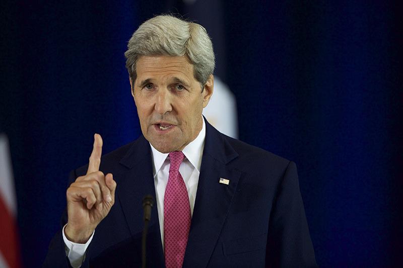 US Secretary John Kerry (AFP Photo)