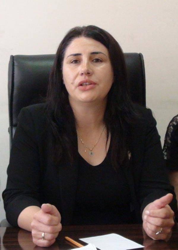 HDP deputy Şafak Özanlı
