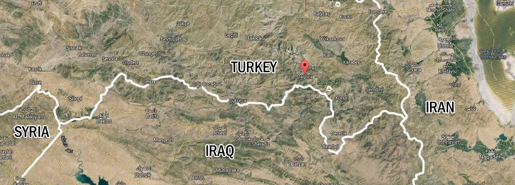 Dağlıca Outpost is located in a strategic position in Turkey's southeastern Hakkari province.