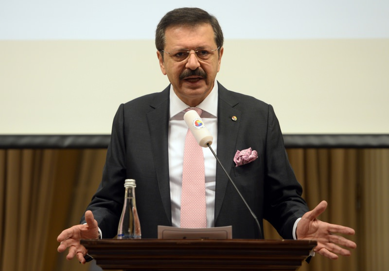 Chairman of the Turkish Union of Chambers and Commodity Exchanges (TOBB) and president of the B20, Rifat Hisarcikliou011flu