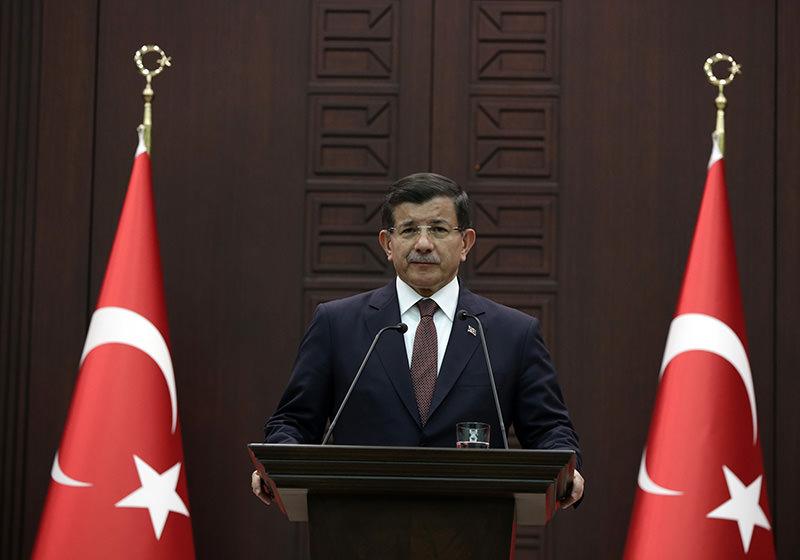 Prime Minister Ahmet Davutou011flu (File Photo)