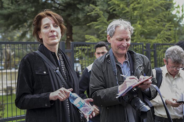 Frederike Geerdink (left) (AA Photo)