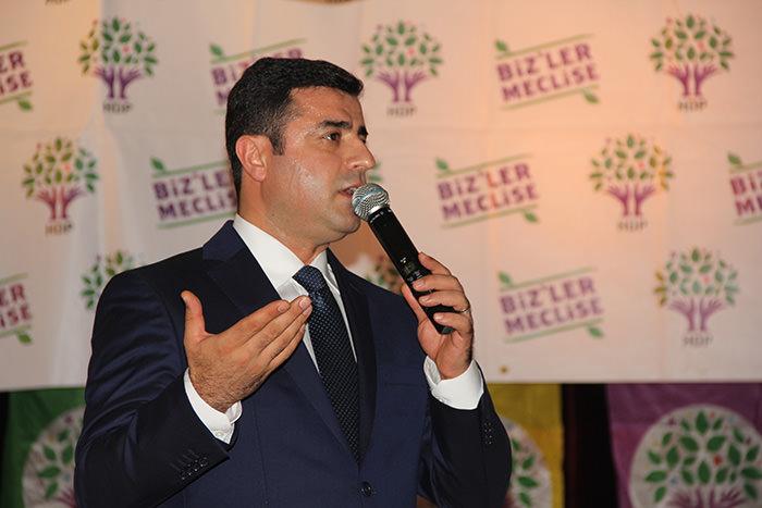 HDP Co-Chair Selahattin Demirtau015f (AA Photo)