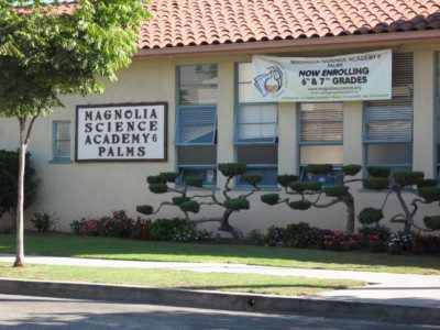Magnolia Science Academy 6, one of the 8 Magnolia schools based in Los Angeles, United States