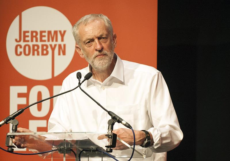 UK's Labour Party's new leader Jeremy Corbyn (AFP Photo)