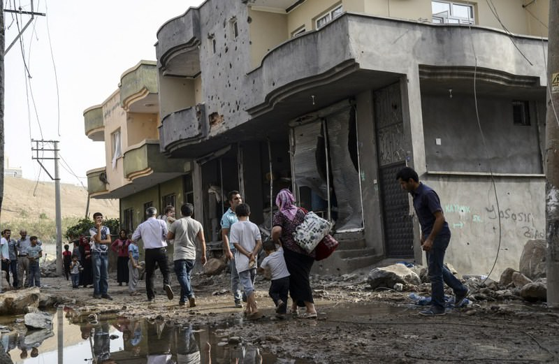 Citizens in the predominantly Kurdish towns in southeastern Turkey live in fear due to the PKK's latest terrorist attacks targeting civilians.