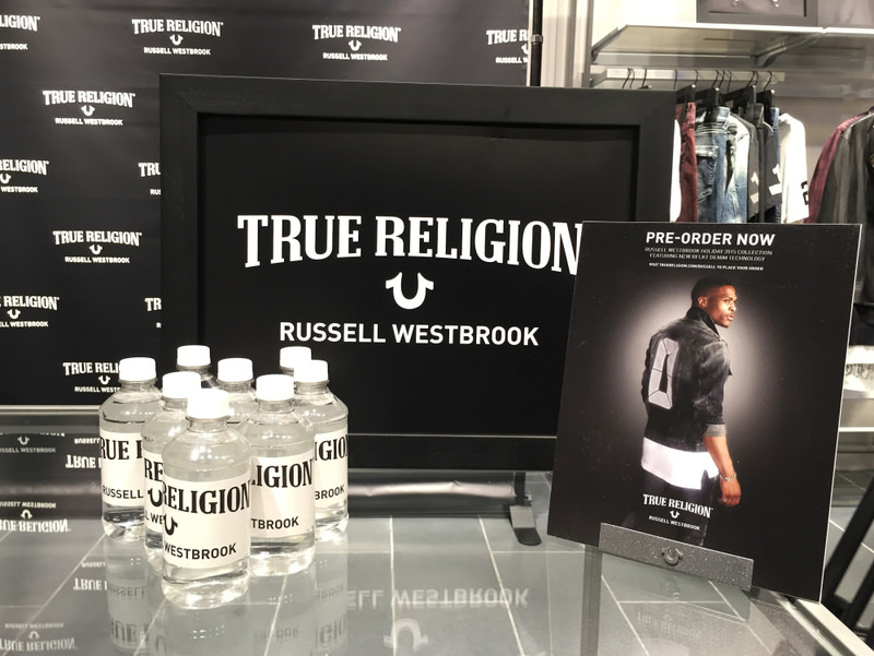 Preview of Russell Westbrook's Holiday 2015 collaboration with True Religion.
