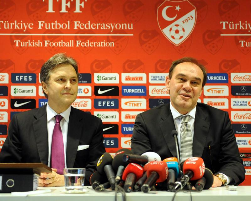 Turkish Football Federation Vice President Hu00fcsnu00fc Gu00fcreli