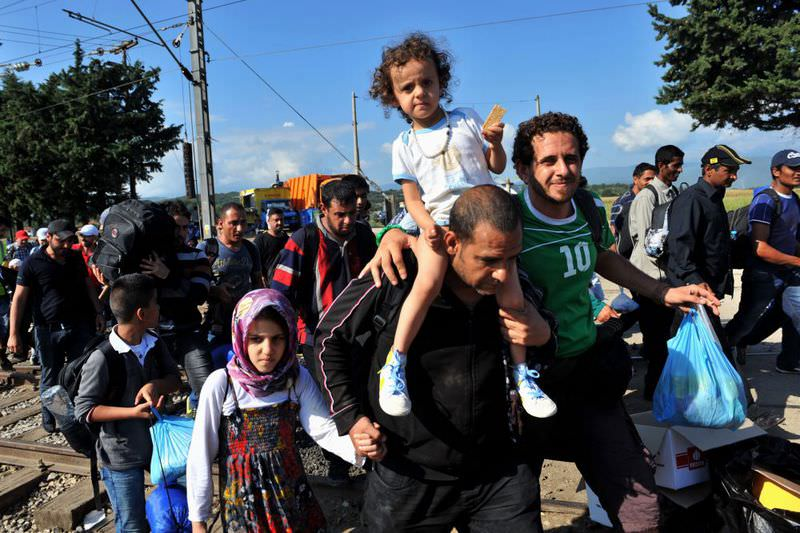 Turkey is hosting 2.2 million refugees, mostly those who fled from the civil war in Syria.
