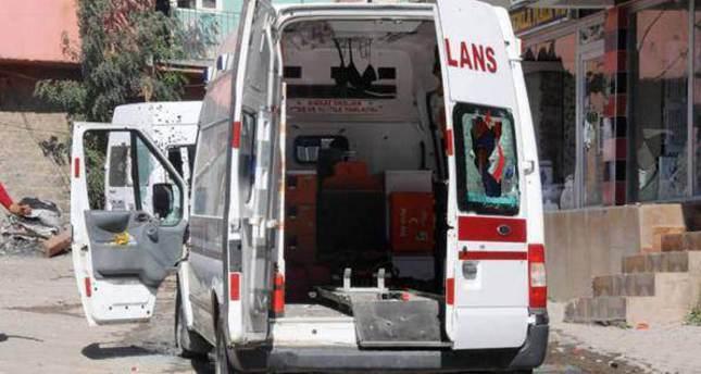 PKK terrorists kill ambulance driver in southeastern Turkey