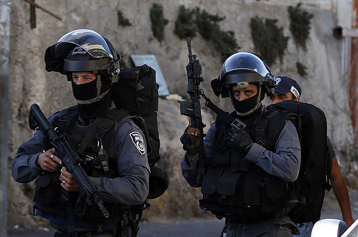 Israeli police special forces (AFP photo)