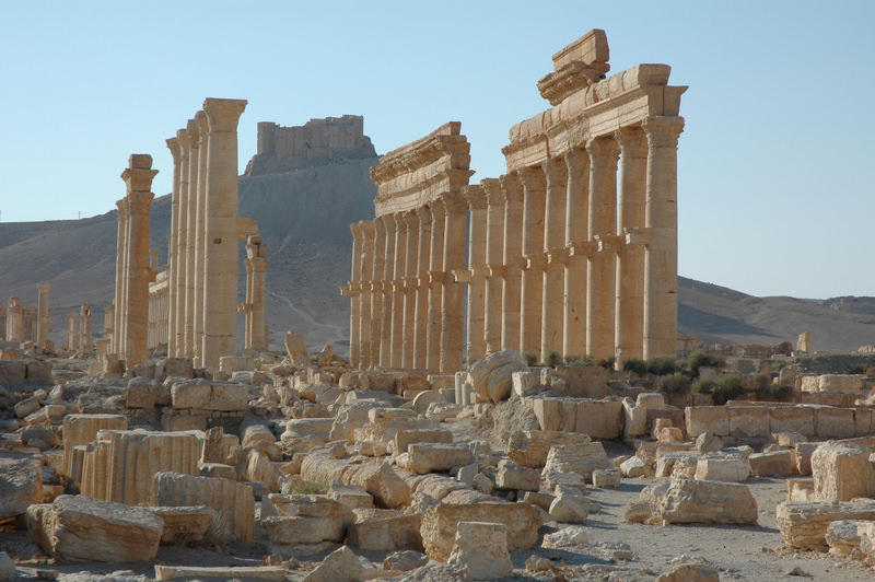 The ancient Syrian city of Palmyra, which had survived for nearly 2,000 years, was the latest heritage building to fall victim to the Syrian war, as it was destroyed last month by ISIS.