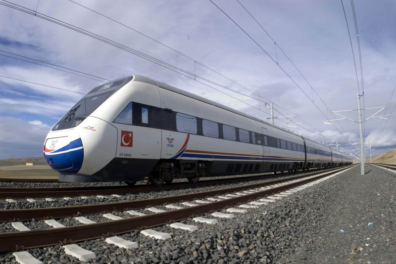 As one of Ak Party's election promises, the speedy train reduces Istanbul - Ankara to 1.5 hours.