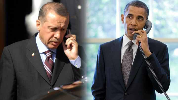 U.S. President Obama phoned President Erdou011fan on Saturday October 10, 2015 to offer his condolences over the heinous terror attack in Ankara.