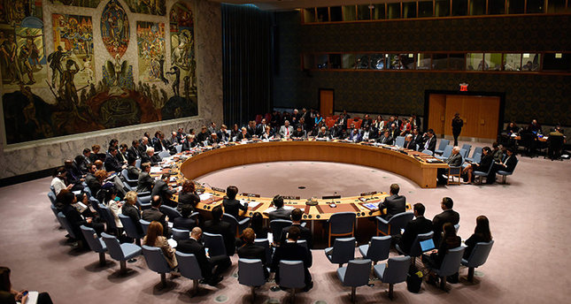The United Nations Security Council meets on the violence between Israelis and Palestinians at United Nations headquarters in New York, New York, USA, 16 October 2015. 34 Palestinians have been killed by Israeli gunfire in the past month (EPA Photo)